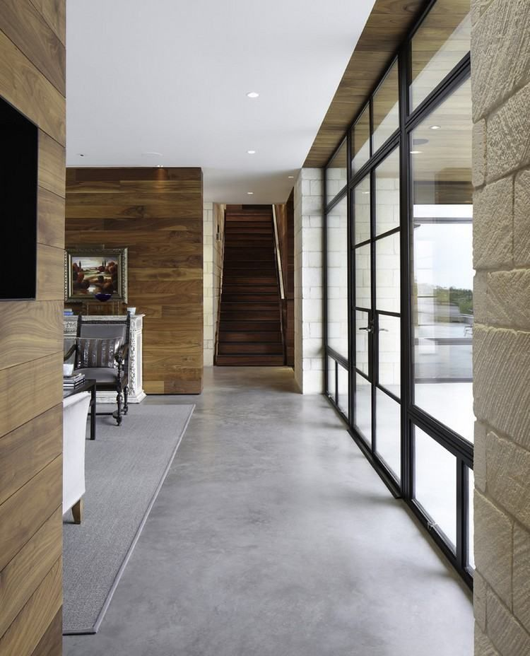 Ground screed as flooring – 18 living ideas with desi …