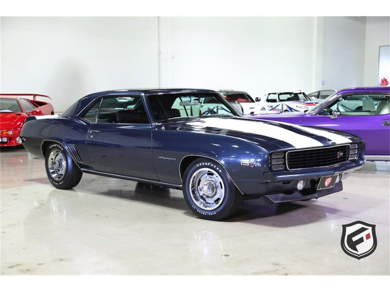 1969 Chevrolet Camaro Rs Z28 For Sale Classiccars Com Cc