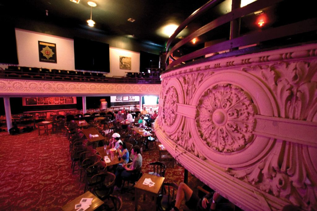 Interior of Portland Oregon\'s Mission Theater | Blake & Tyler\'s ...