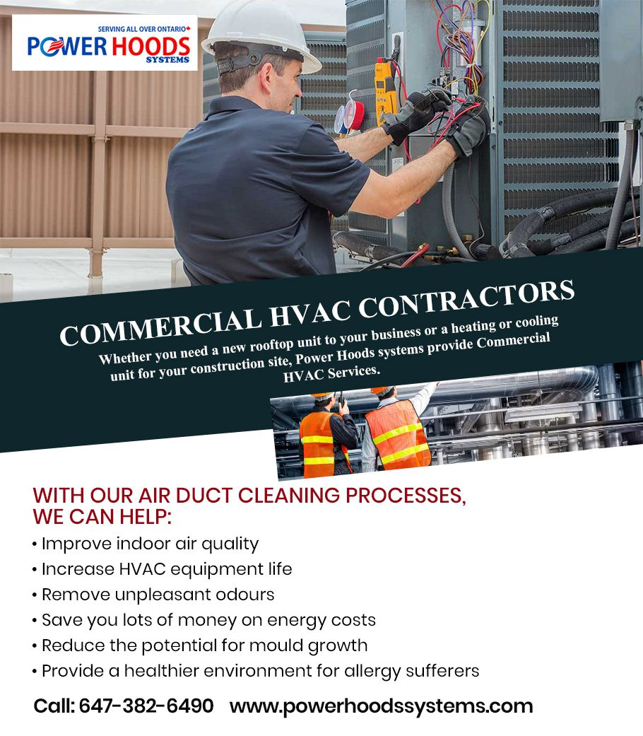 Commercial HVAC Cleaning Services in Toronto in 2020
