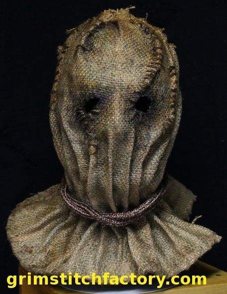 Sackcloth Hood Google Search Scarecrow Mask Halloween