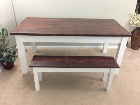 rustic hand crafted farmhouse table red mahogany white base the rh pinterest com