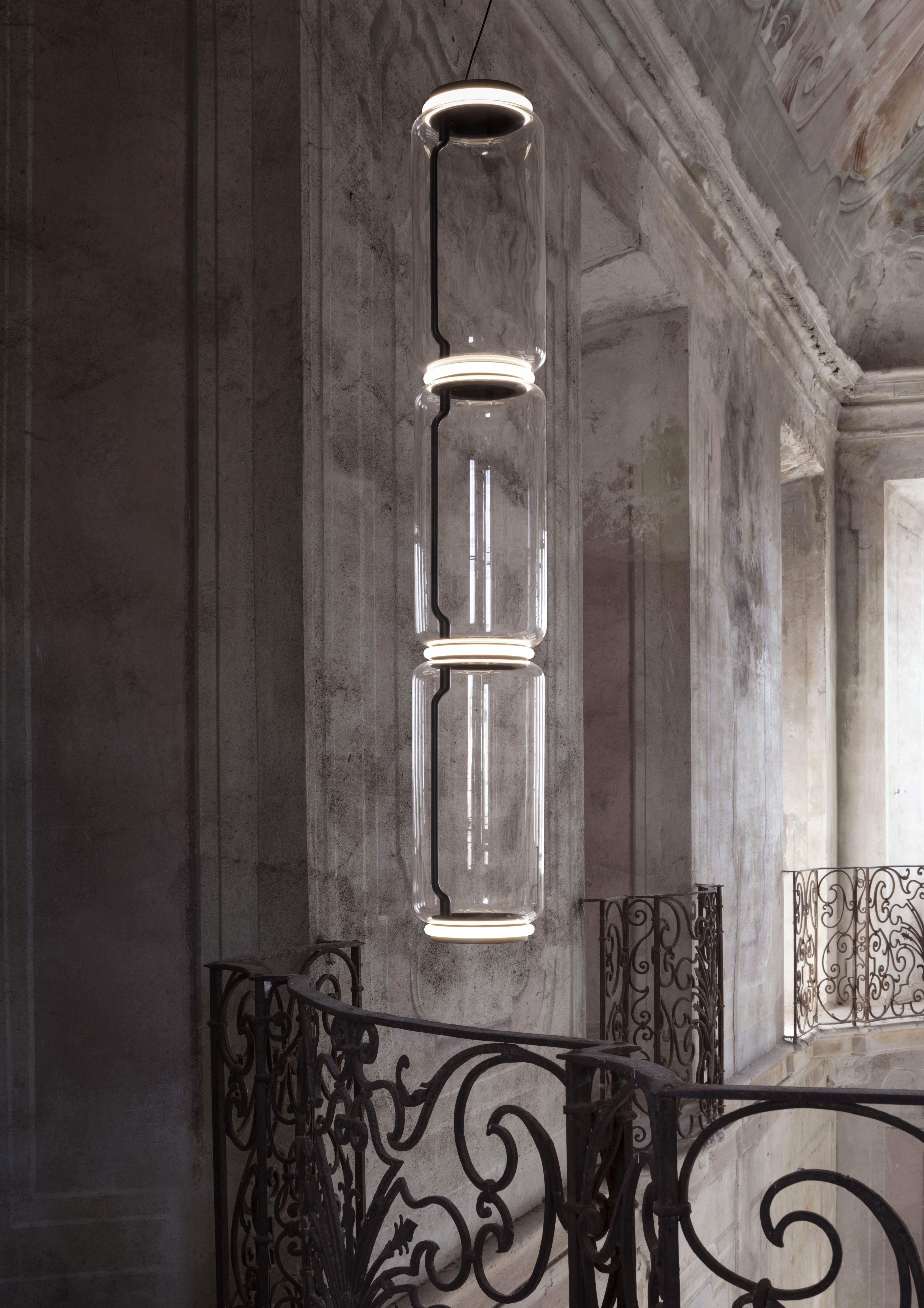Noctambule Suspension 3 High Cylinder Lamp In 2019 Pendant