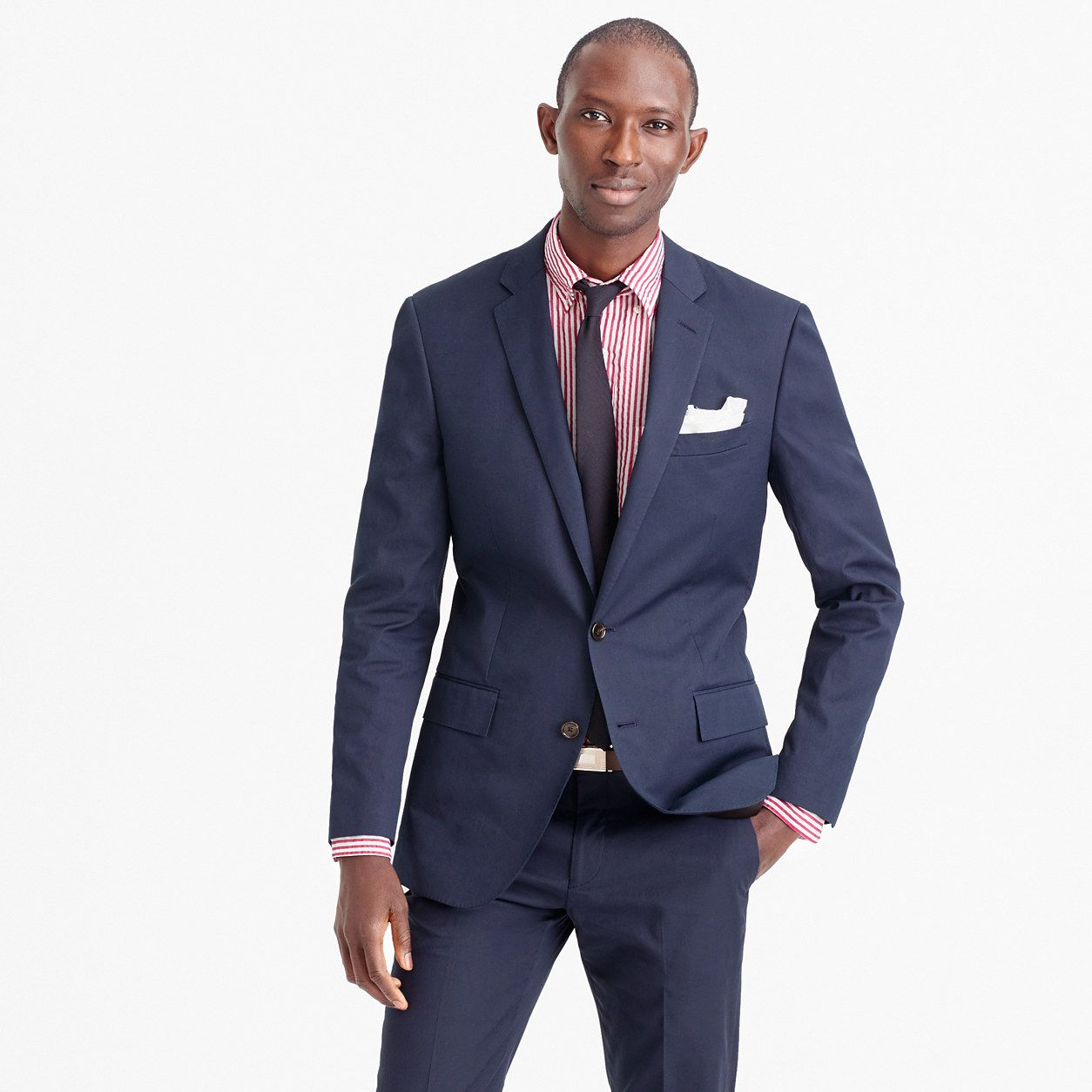Ludlow suit jacket in Italian cotton piqué - Ludlow Suit -Men- J ...