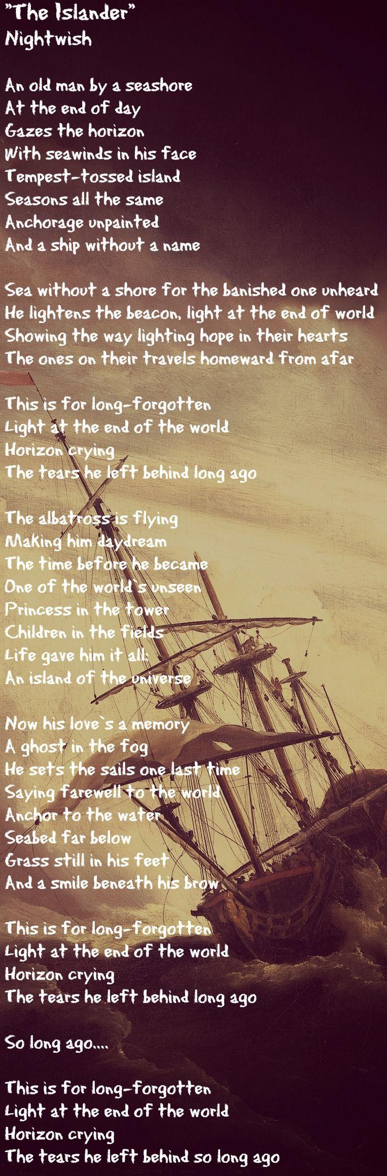 26 Nightwish Ideas Cool Lyrics Lyric Quotes Lyric Tattoos