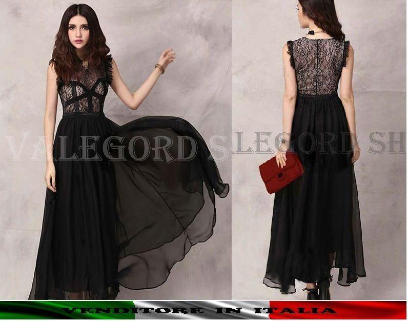 buy popular 76c92 05786 Pin su Abiti lunghi * Maxi abiti * Long dress