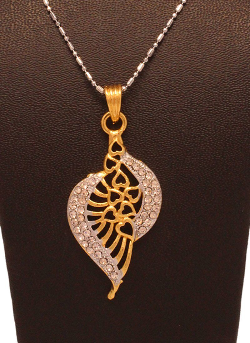 Fabulous gold n silver pendant set womenus fashion pinterest