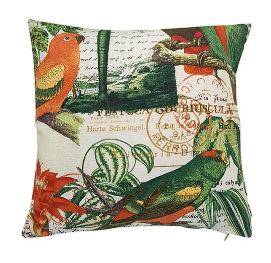Tropical Birds Indoor Outdoor Cushion Cover Outdoor Cushions