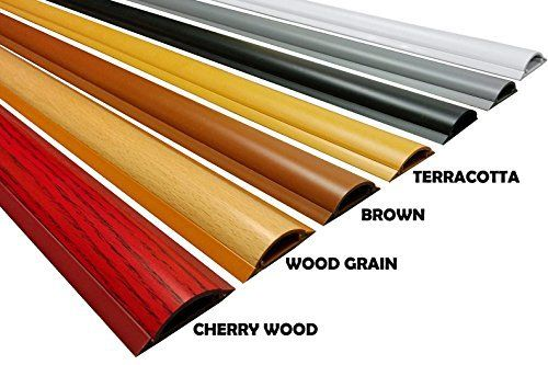 Cable Shield Cord Cover Model Csx 2 Length 59 Color Wood