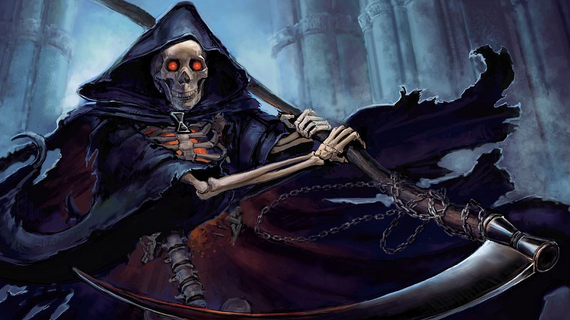 Dark Grim Reaper Purple Wallpaper For Android In 2020 Marvel Comics Wallpaper Grim Reaper Grim Reaper Pictures