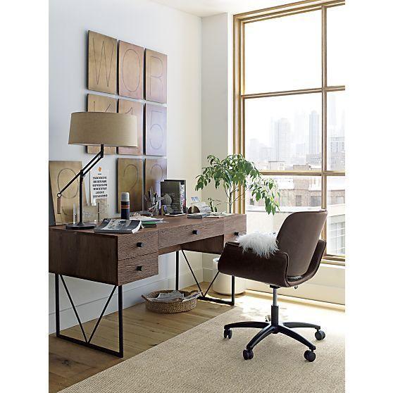 Delicieux Hendrix Desk In Desks   Crate And Barrel