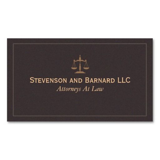 Classic lawyer attorney business card business card pinterest business cards colourmoves