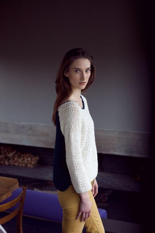 Raglan Pullover Initiative Handarbeit Crochet Pinterest