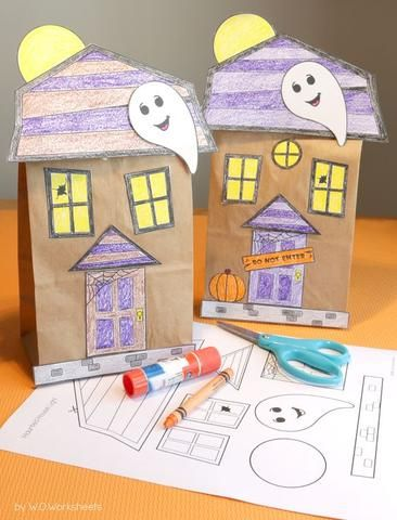 DIY Kids Craft Ideas for Fall Halloween! Halloween kids, Haunted - halloween kids craft ideas