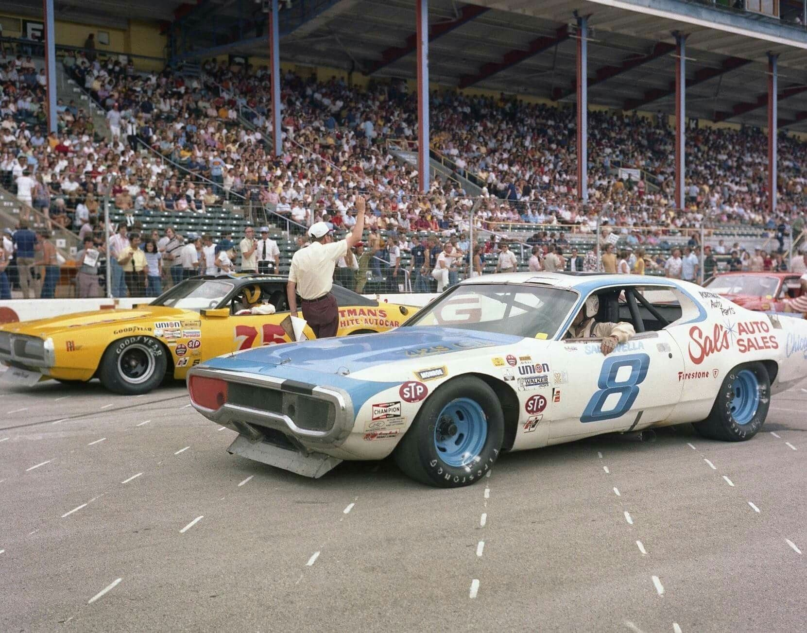 8 Plymouth GTX, #75 Dodge Charger | I ♡ US Muscle Cars ... | NASCAR ...