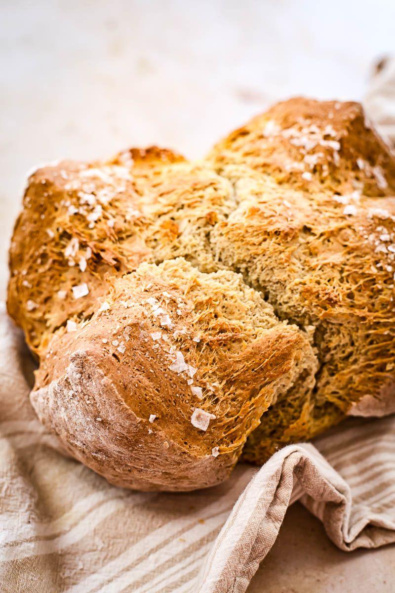 Honey Buckwheat Soda Bread In 2020 Soda Bread Buckwheat Bread Buttermilk Recipes