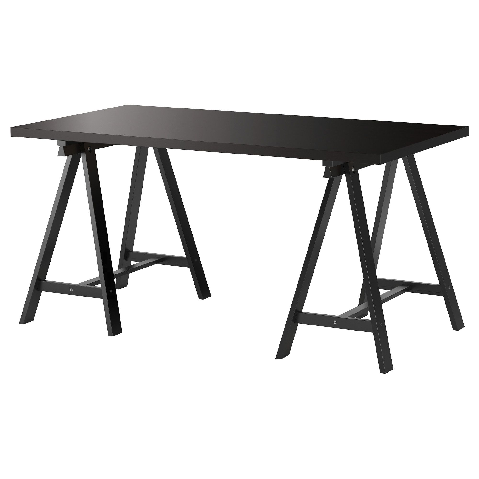 black furniture ikea. linnmon oddvald table blackbrown black furniture ikea