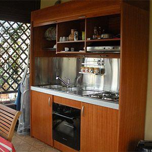 armadio cucina chiudibile | Cucina Armadio | Pinterest