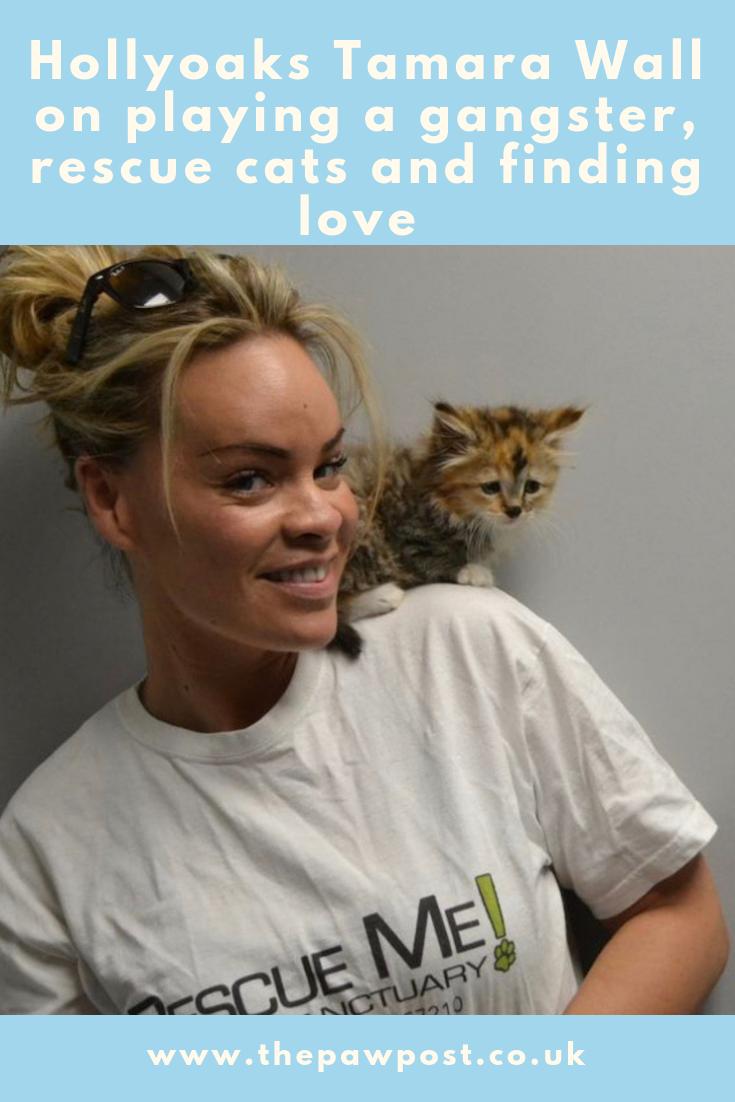 Hollyoaks' Tamara Wall talks rescue cats, her murderous