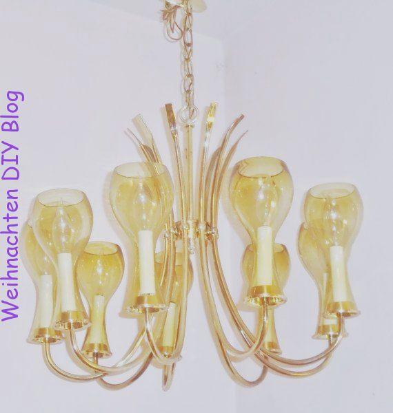 Kronleuchter Atlas Beleuchtung Messing Atom 9 Arm Kronleuchter Glas Tasse Licht Lampe Vintage Mid Century Modern