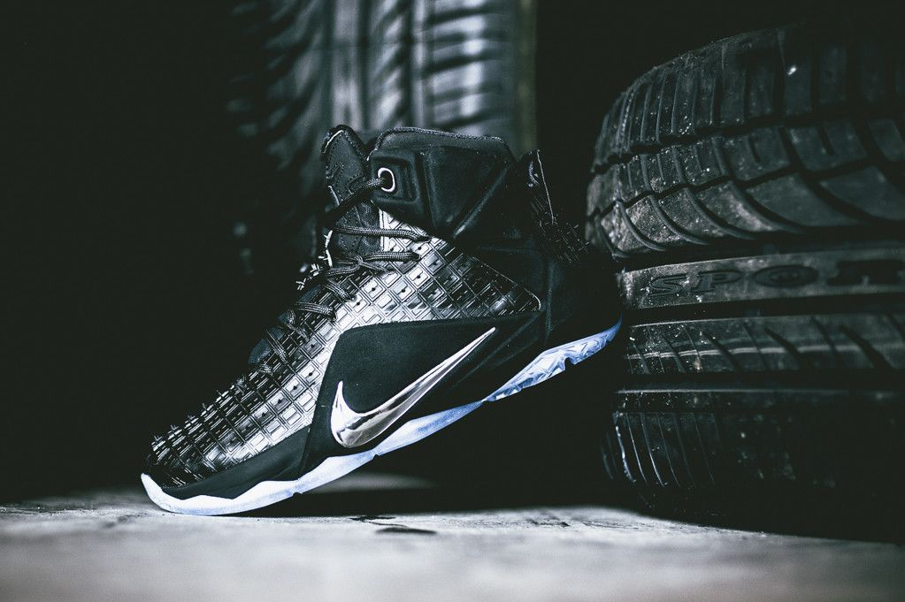 c29a6e042fb5 Nike LeBron 12 EXT  Rubber City