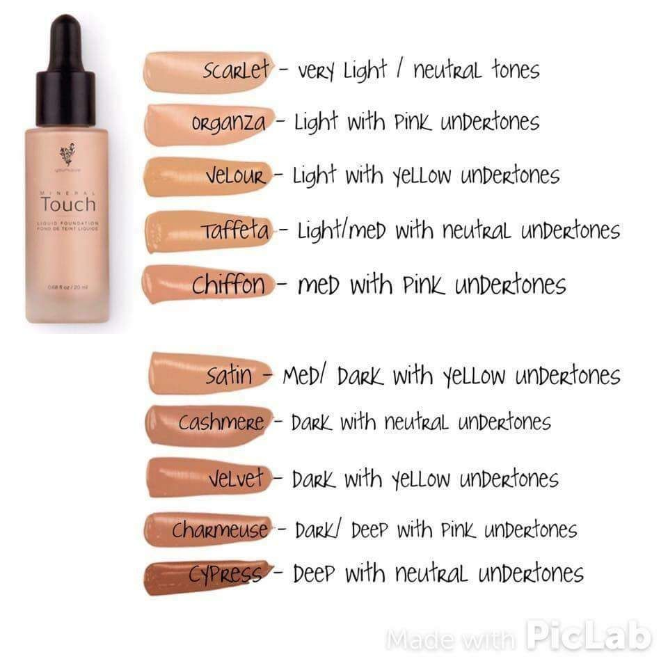 Touch Mineral Liquid Foundation Please like my Facebook page for more information. https://www.facebook.com/youniquebymindymenard