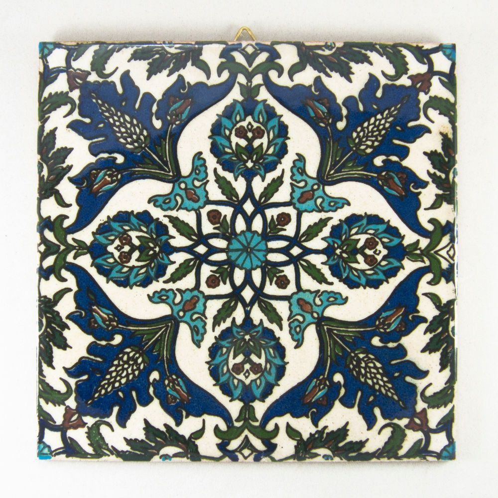 Armenian ceramic art gift handpainted tile made holy land israel armenian ceramic art gift handpainted tile made holy land israel jerusalem handmade dailygadgetfo Images