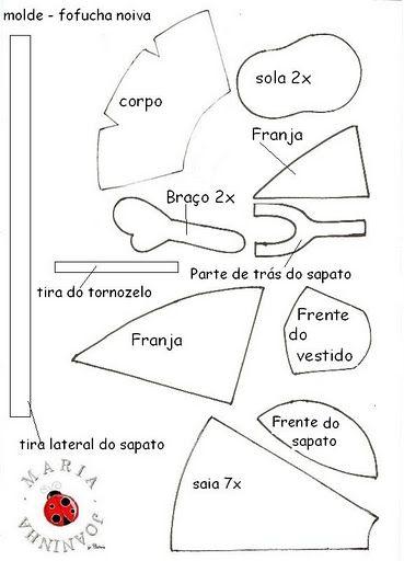 fofucha novia | Фоамиран | pinterest