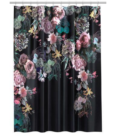 H&M Duschvorhang mit Druck 24,99 | Duschvorhang | Pinterest | Drucke ...