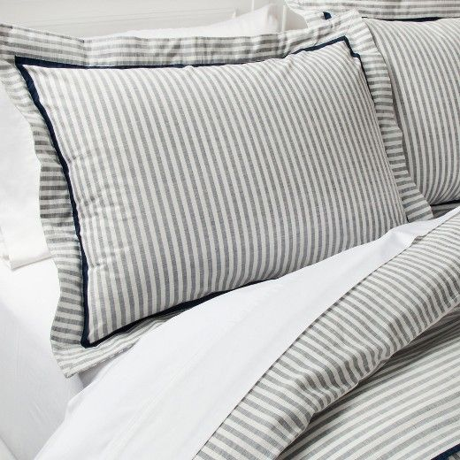 Shop Our Beach House Young House Love Striped Duvet Striped Duvet Covers Target Bedding
