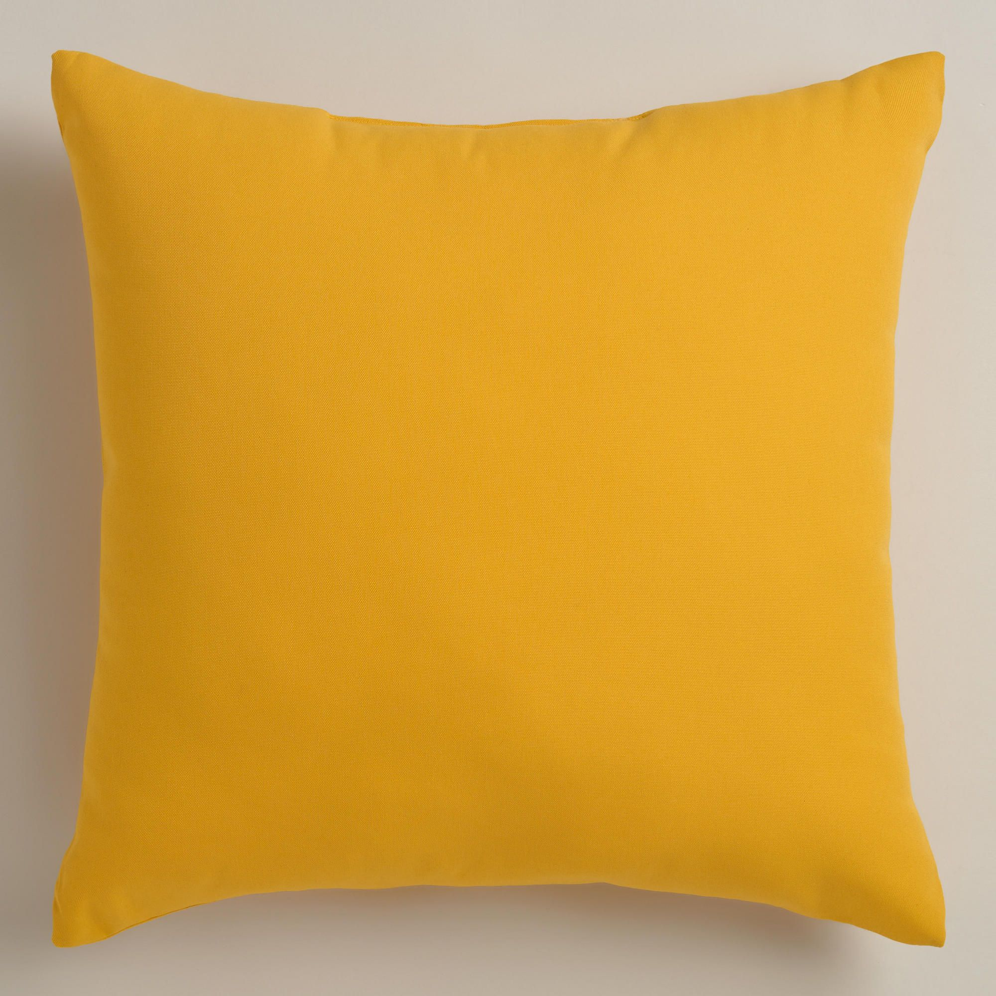 Yellow Outdoor Throw Pillows | World Market
