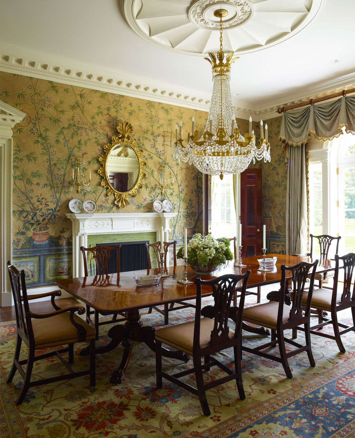 Victorian Dining Room Ideas: Traditional Dining Rooms, Victorian