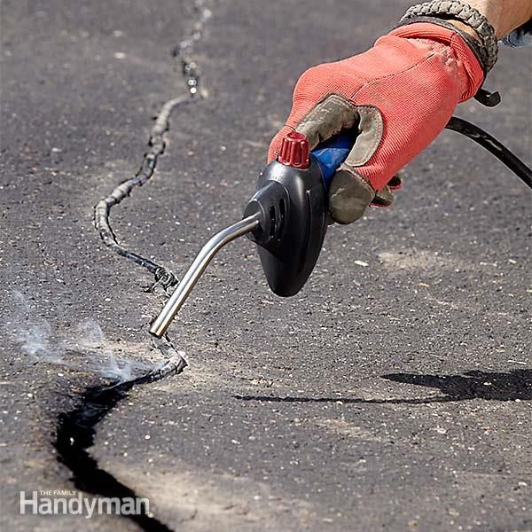 Asphalt Repair And Crack Filling Diy Projects Asphalt