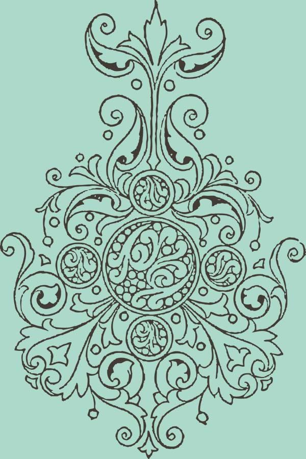 More Free Clipart - Vintage Frames Borders & Ornaments | Sewing ...
