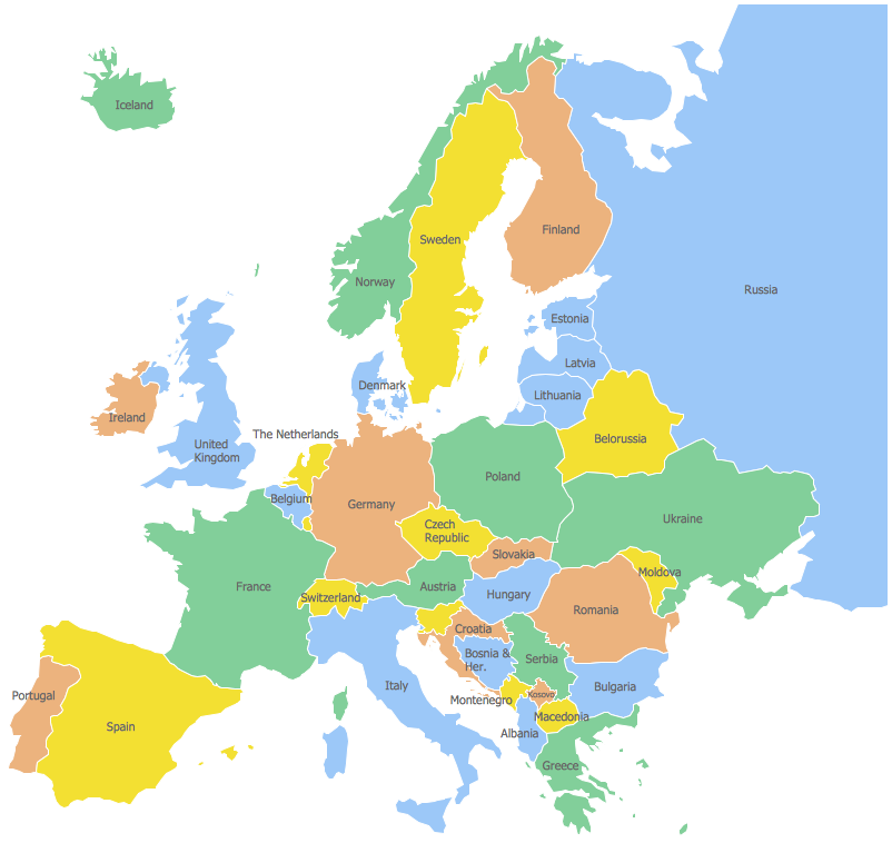 Map Of Europe France.How To Draw Europe With Countries And Features Google Search