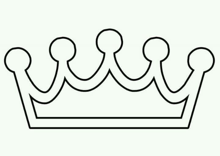 Pin Von Maureen Guzman Auf Coronas Kronenschablone Prinzessinnen Ausmalbilder