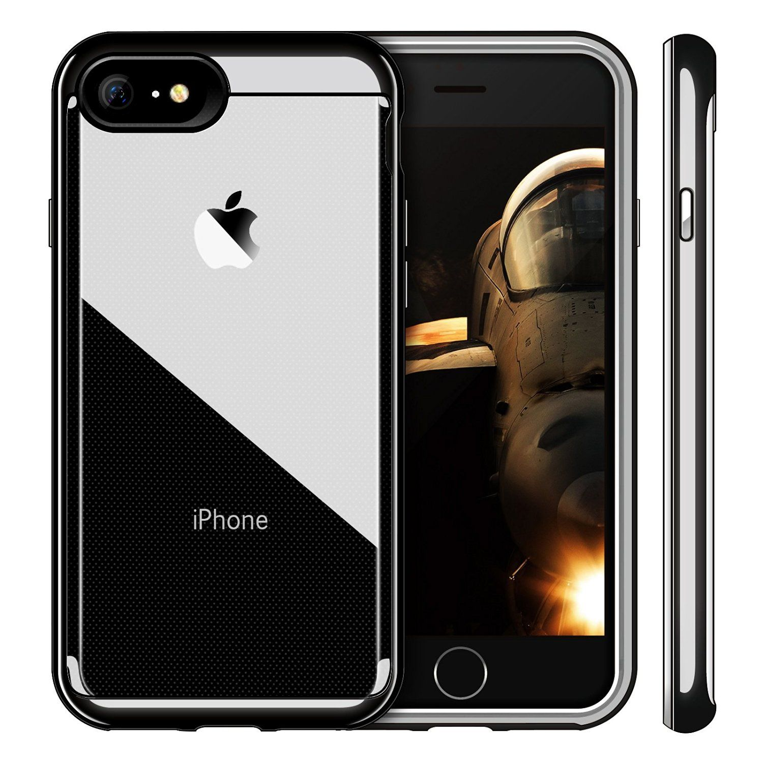 Only 14 99 Now Ivapo Crystal Clear Case For Your Jet Black Iphone 7 Iphone Jet Black Iphone Black Iphone 7