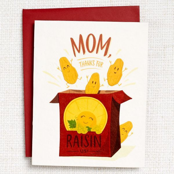 Thanks For Raisin Us Mother S Day Card Greeting Cards Paper Source Mothersday