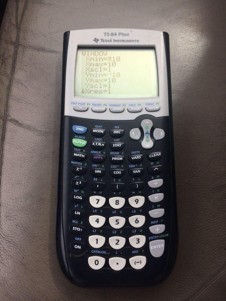 Texas Instruments Ti 84 Plus Edition