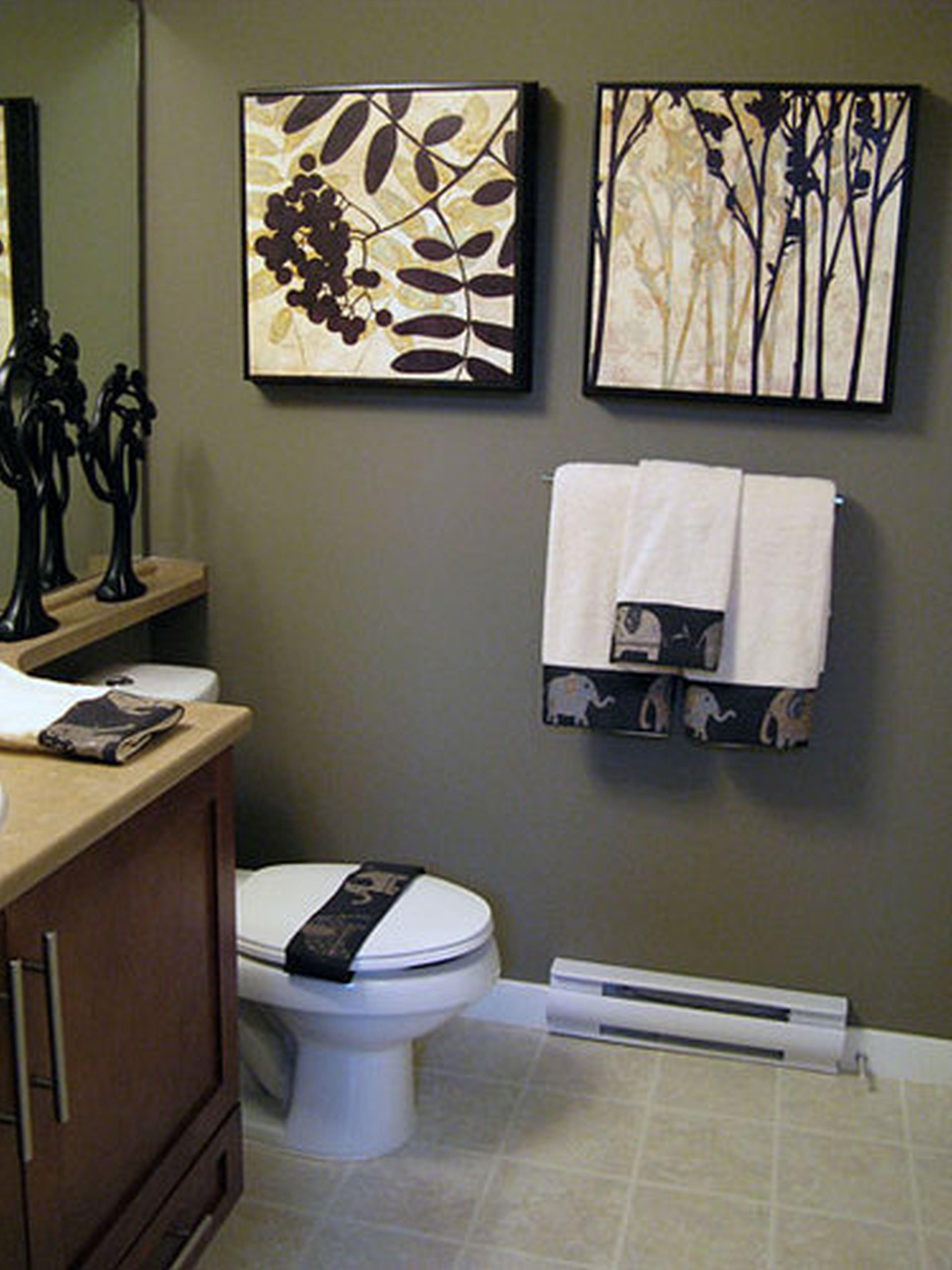 Ideas For Cozy Bathroom Wall Decor Small Bathroom Decor Elegant