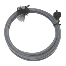"Cable 5/16"" x 35 ft. Cobra IV Dryer Duct Cable Comes with 4"" Dryer Duct Brush"