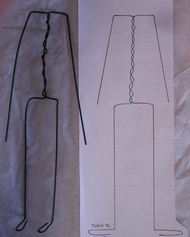 Wire Armature For A Doll Dolls Wire Tip Junkie