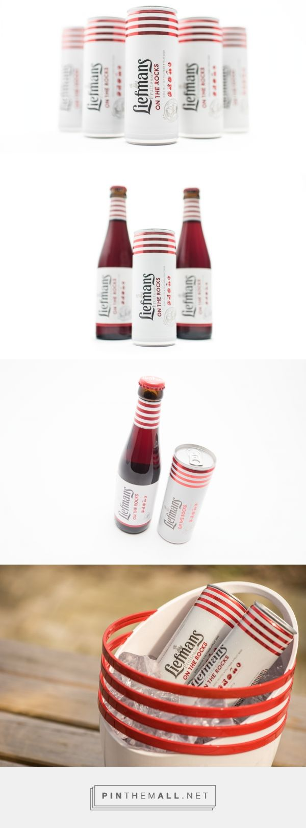Liefmans Fruitesse On The Rocks — The Dieline - Branding & Packaging... - a grouped images picture - Pin Them All