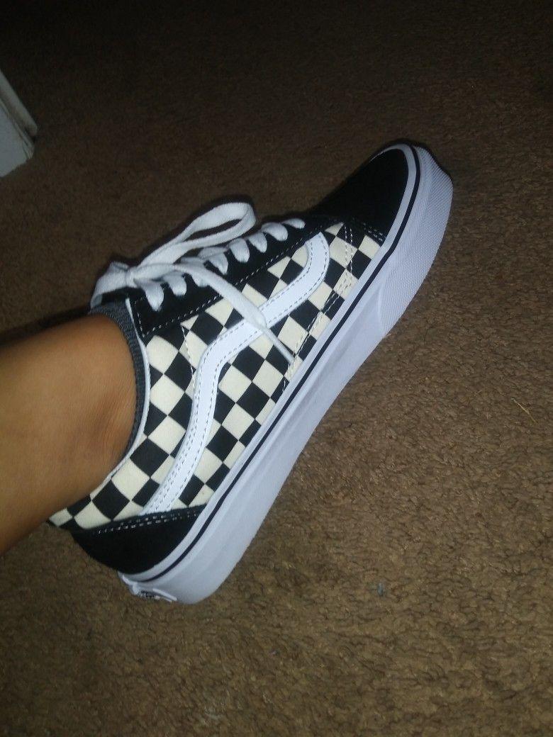 Primary Checkerboard Old Skool Vans Vans Shoes Old Skool Vans Vans Shoes