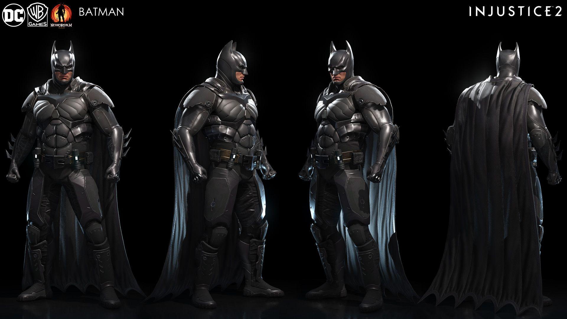 Batman Injustice Batman Batman Armor