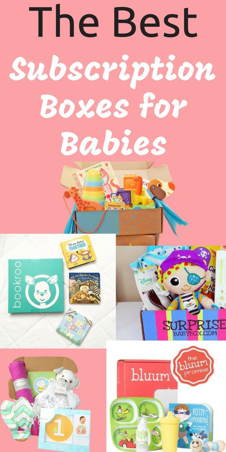 The Best Subscription Boxes For Babies Babies Monthly Baby Box