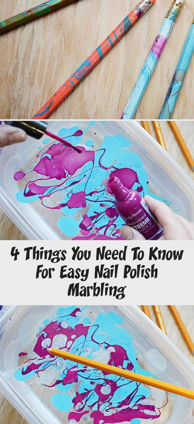 En Blog En Blog in 2020 Nail polish marbling, Simple