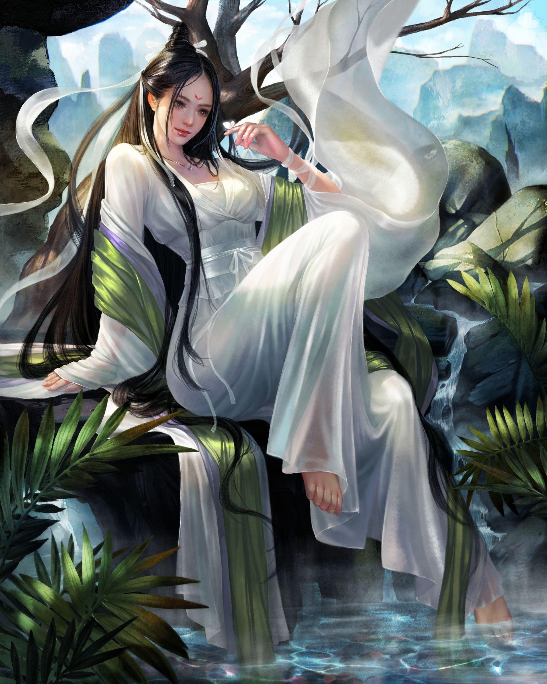 ArtStation - 中国妹子, Li Zi