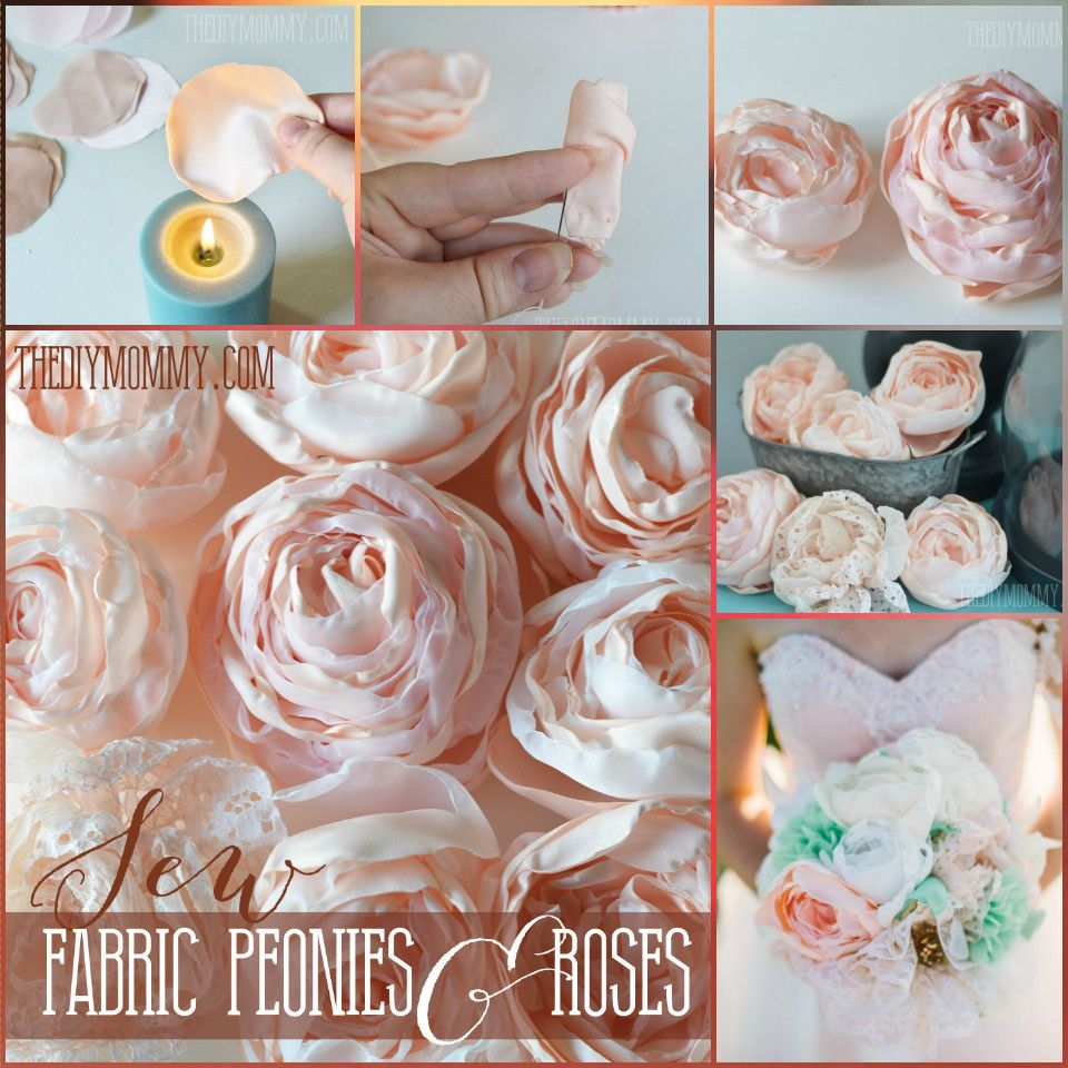 50 easy fabric flowers tutorial make your own fabric flowers 50 easy fabric flowers tutorial make your own fabric flowers page 7 of 10 diy crafts izmirmasajfo