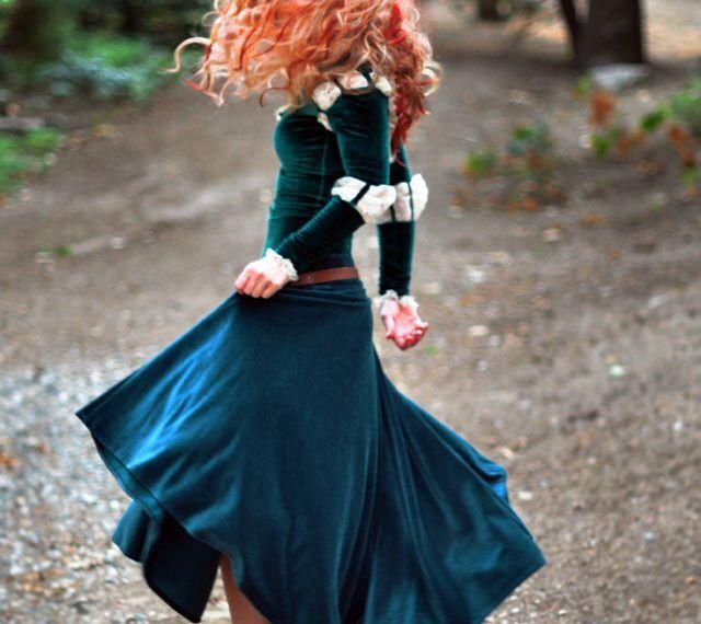 Adult Merida Brave Costume #halloween & Adult Merida Brave Costume #halloween | costumes | Pinterest ...